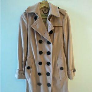 Burberry pink coat